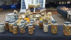 Jars of secrets and bumble bee jasper rough