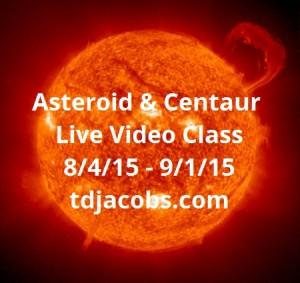 Asteroid & Centaur Live Video Class