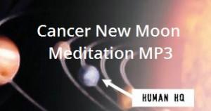 Cancer New Moon Meditation MP3