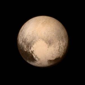 Pluto by New Horizons Spacecraft July 2015